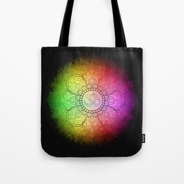 Colours of Om Tote Bag
