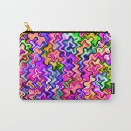 Swirly Twirly Colors Carry-All Pouch