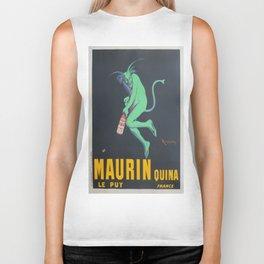 Vintage poster - Maurin Quina Biker Tank