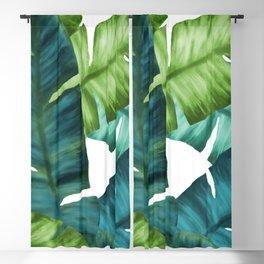 Tropical Banana Leaves Unique Pattern Blackout Curtain