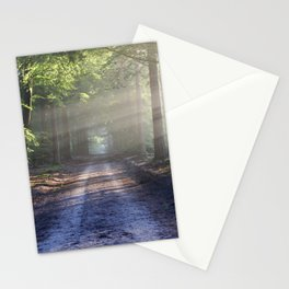 Road landscape Stationery Cards