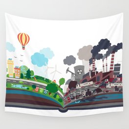 EcoBook Wall Tapestry