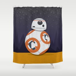 BB8 Shower Curtain