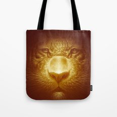 Gold Tiger Tote Bag