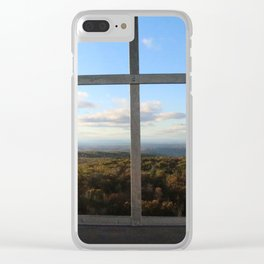 Grafton Fire Tower View Clear iPhone Case