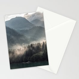 Misty Mountains Stationery Cards