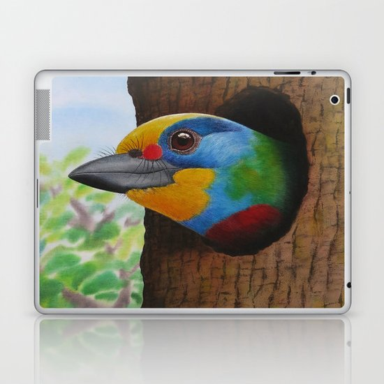 Beautiful Bird Laptop & iPad Skin