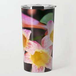 Tangerine Beauty Cross Vine - Three Plus One Travel Mug