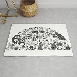 To el tintero entero - Underground comic characters Rug