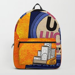 UNLUCKY & TOASTED Backpack