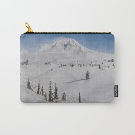 Snowy Mount Hood Carry-All Pouch