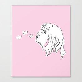 Spread Love Canvas Print