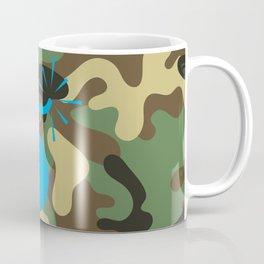 CAMO & LIGHT BLUE BOMB DIGGITY Coffee Mug