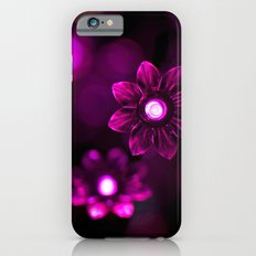 Electric Flowers (Purple) iPhone 6s Slim Case