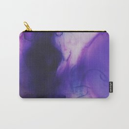 Violet Aura Carry-All Pouch