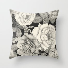 NATURE IN SEPIA Throw Pillow