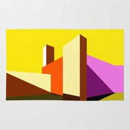Casa Luis Barragán - Modern architecture abstracts  Rug