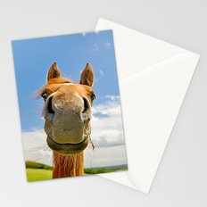 Keep smiling Stationery Cards
