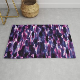 Downpour (Purple) Rug