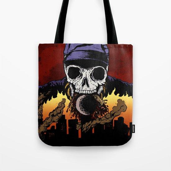 """Hip Hop Horror"" by Cap Blackard Tote Bag"