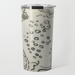 Under The Sea Sketch Travel Mug