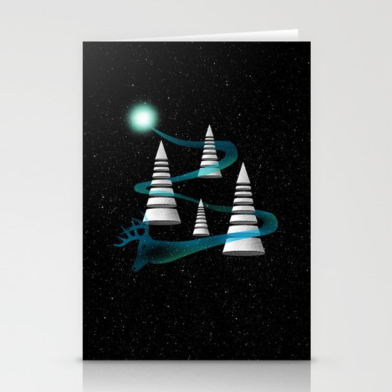 The Other Side Of The Galaxy Stationery Cards