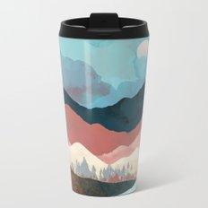 Fall Transition Metal Travel Mug