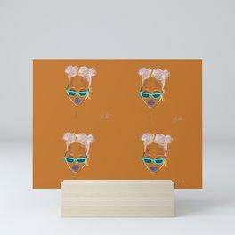 Unbothered Mini Art Print