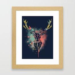 Deer Head Framed Art Prints For Any Decor Style Society6
