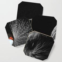 CROWNED CRANE by Monika Strigel Coaster