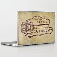celebrity Laptop & iPad Skins featuring Celebrity & Autonomy by Josh LaFayette