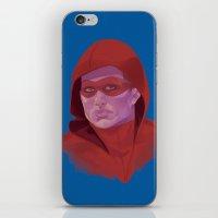 arsenal iPhone & iPod Skins featuring Roy Harper by Sbrasi