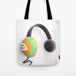 3D wifi headphones Tote Bag