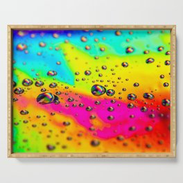Rainbow Landscape Serving Tray