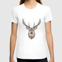 stag T-shirts featuring Stag by LydiaS