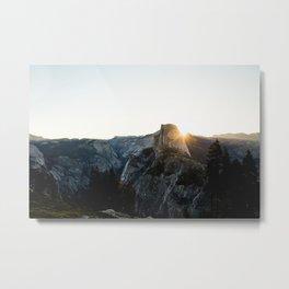 Beautiful Yosemite Metal Print