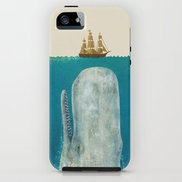 The Whale - colour option iPhone Case