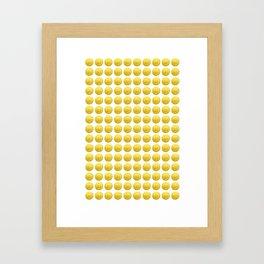 Mario Coins x150 Framed Art Print