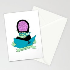 A zine as weird as you are. Stationery Cards