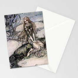 "Arthur Rackham Fairy Art from ""Undine"" Stationery Cards"