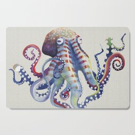 Octopus : Natural Cutting Board
