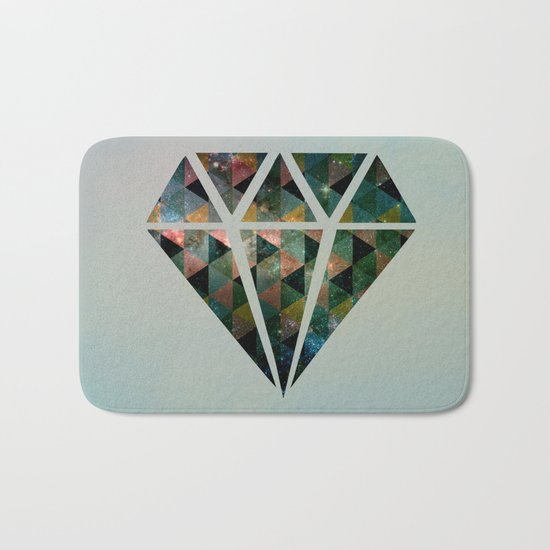 Shine on you crazy diamond Bath Mat