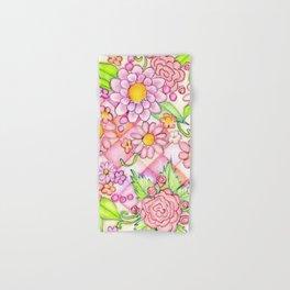 Pink Pomeranian Hand & Bath Towel