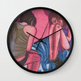 Sleepers Wall Clock