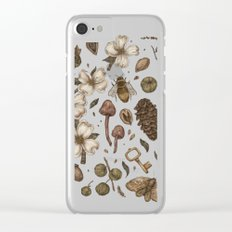 Nature Walks Clear iPhone Case