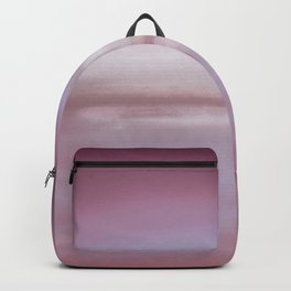 New Day 10 Pink Plum Purple Lavender Grape Gray - Abstract Art Series Backpack
