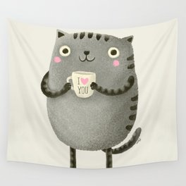 I♥you Wall Tapestry