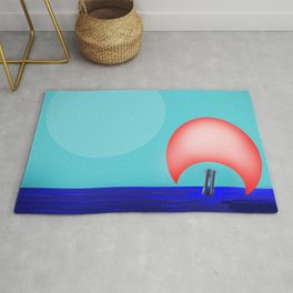 Soaring Higher and Higher with May - shoes stories Rug
