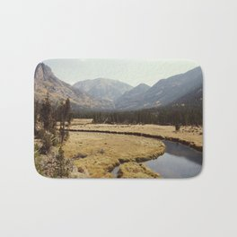 Rocky Mountain Meadow Bath Mat
