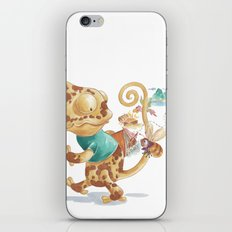 Finding Treasure Island iPhone & iPod Skin
